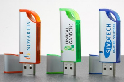 Curve Custom Flash Drives