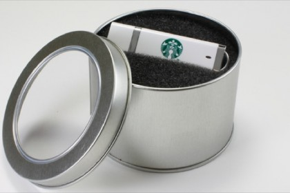 Round Display Tin