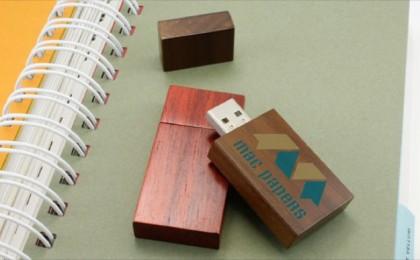 Woodland Custom Flash Drives