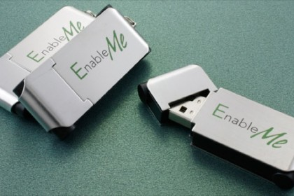 Case Custom Flash Drives