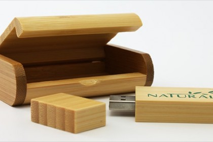 Rounded Wooden Box