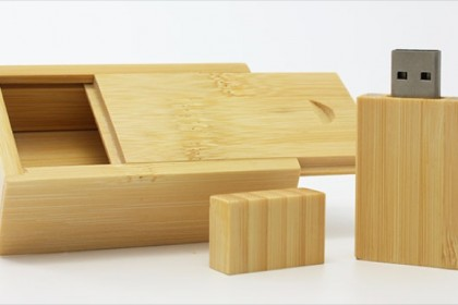 Wooden Slide Top Box